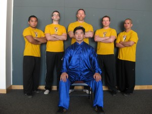 Sifu Wang with BTKA Instructors in 2013